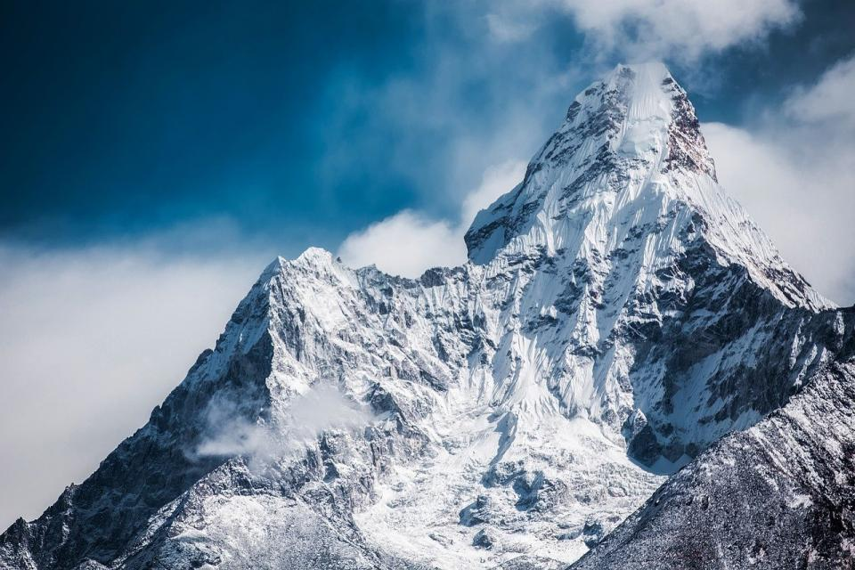 Mountain Climbing in Nepal